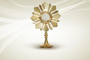 O Ostensório E A Adoração De Jesus Cristo
